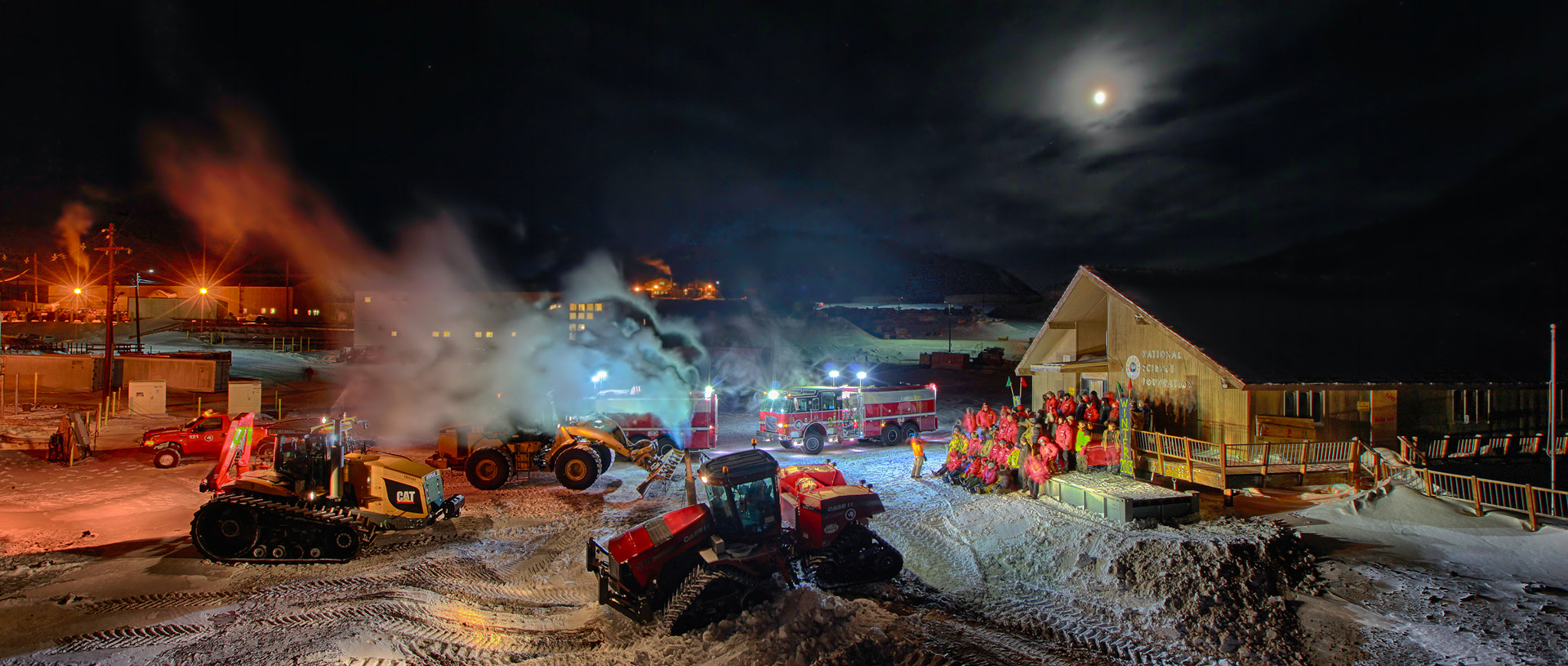 Photograph Panorama of McMurdo Station Photo by Deven Stross on 500px