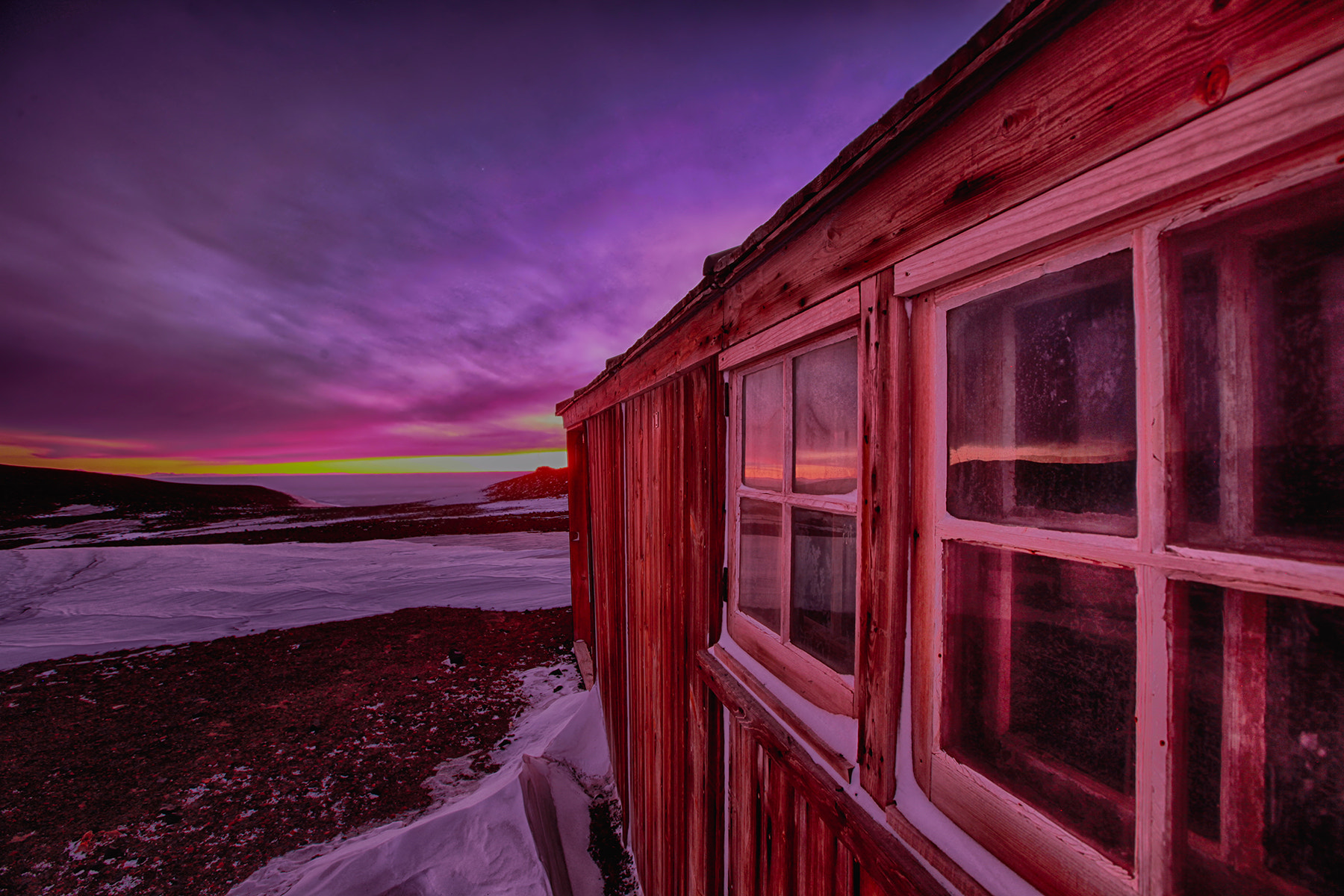 Photograph Late Winter at Scott Hut, Antarctica by Deven Stross on 500px