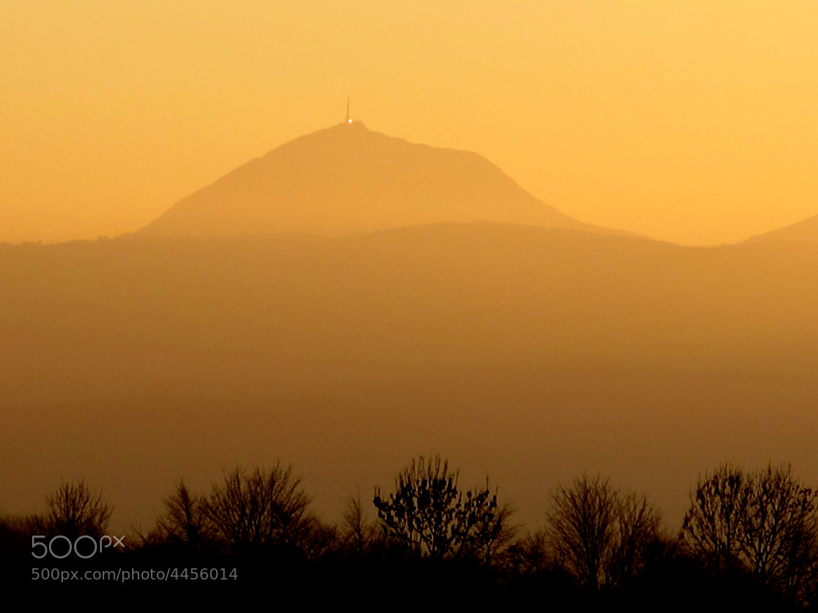 Photograph Sunset. Puy de Dômes by olivier48 on 500px