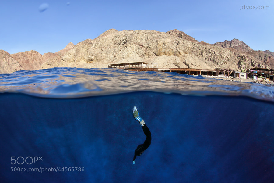 Photograph The Blue Hole - Dahab, Egypt by Jacques de Vos on 500px