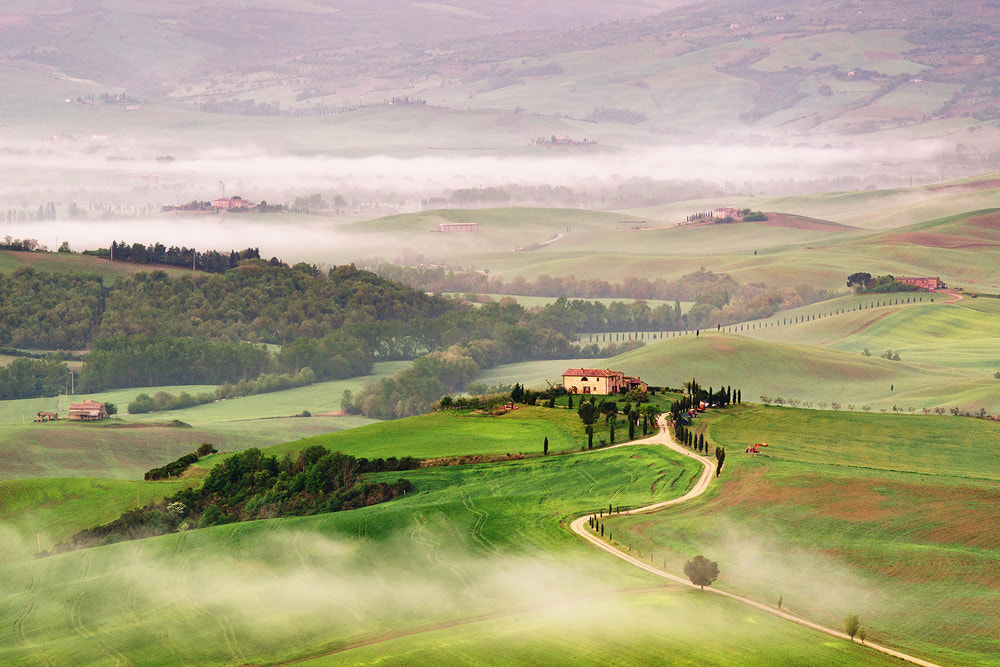 Photograph morning fog by Dennis Fischer on 500px