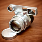 Leitz GmbH Wetzlar 50mm/F2 Summicron DR with goggles