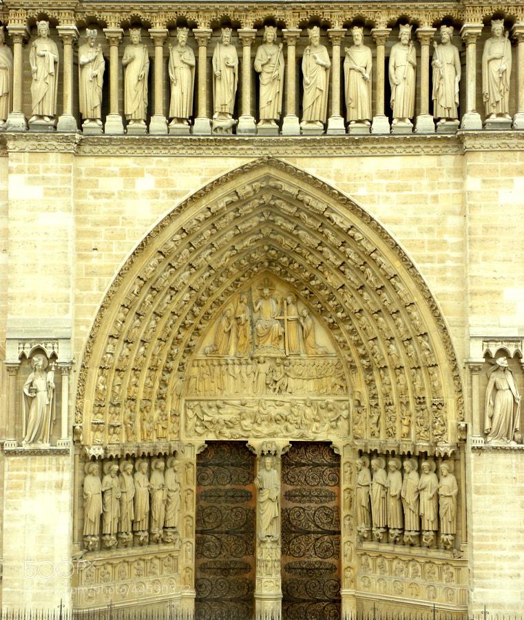 Notre Dame, Paris by Kunal  on 500px.com