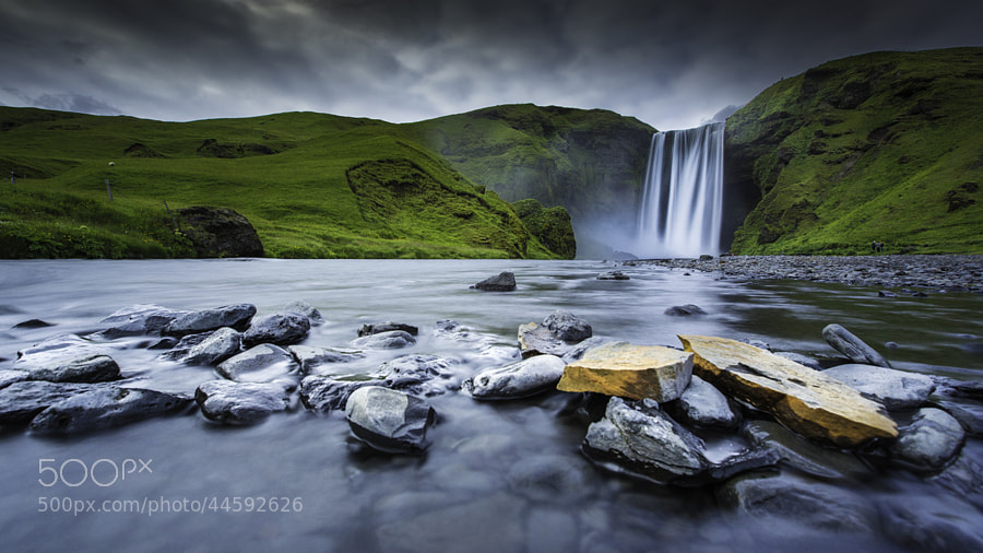 Waterfall Skogafoss by Jose Antonio Hervas on 500px.com