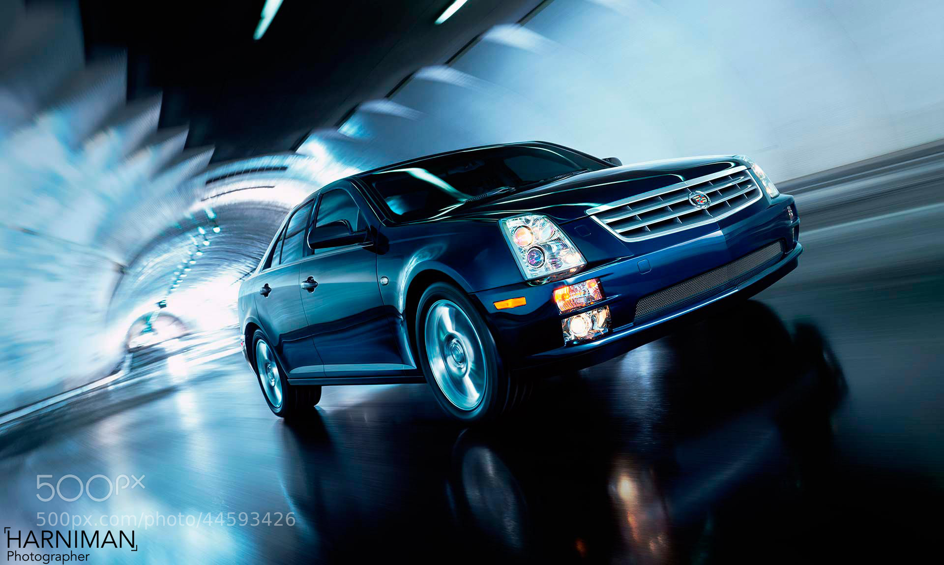 Photograph Cadillac STS LA by Nigel Harniman on 500px