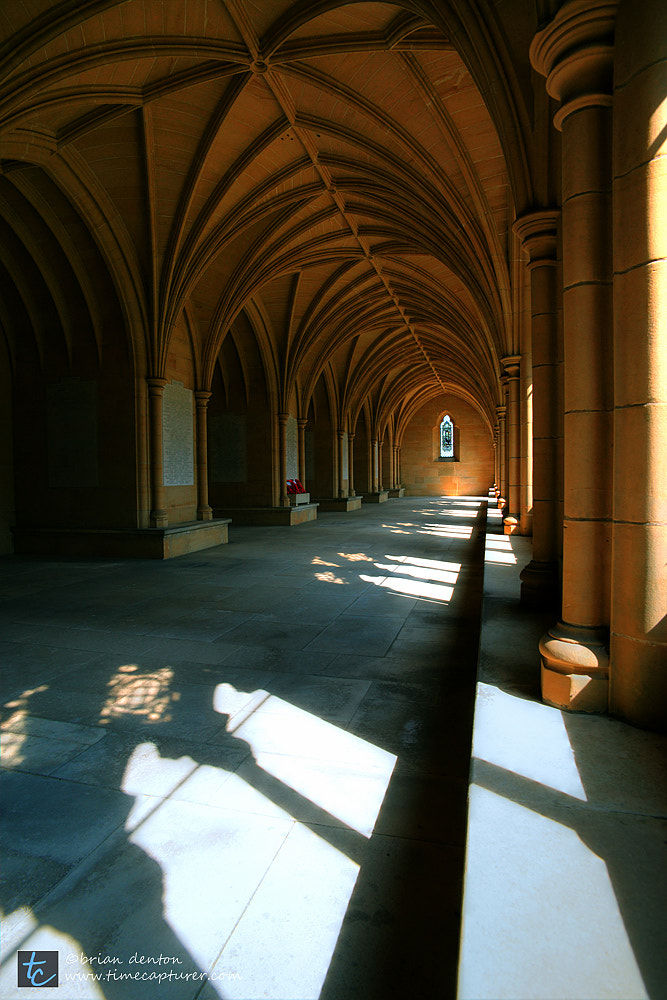 Photograph lancing college cloisters by Brian Denton on 500px