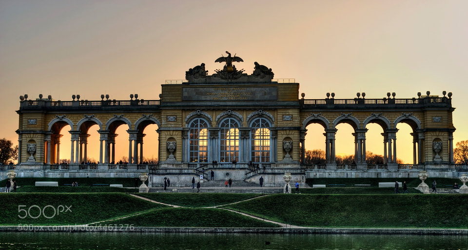 Photograph Gloriette - Schönbrunn by Adrian Kraszewski on 500px