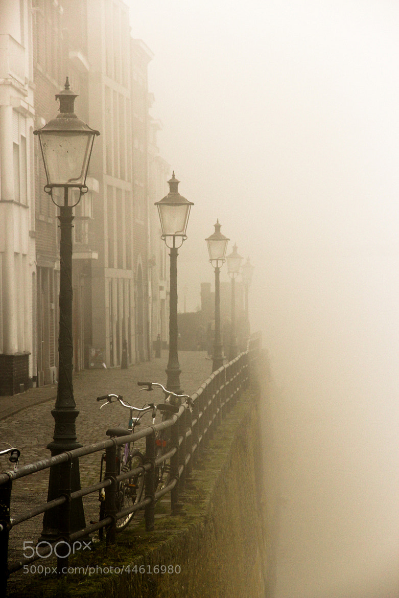 Photograph De Maas in mist by Olivier Overberg on 500px