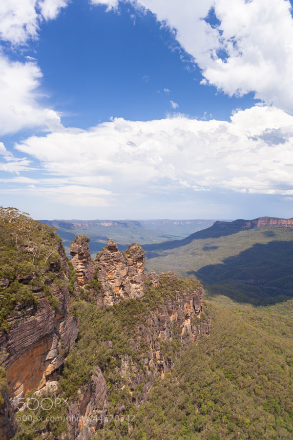 Photograph Three Sisters, Blue Mountains, NSW, Australia by Hans Woltering on 500px
