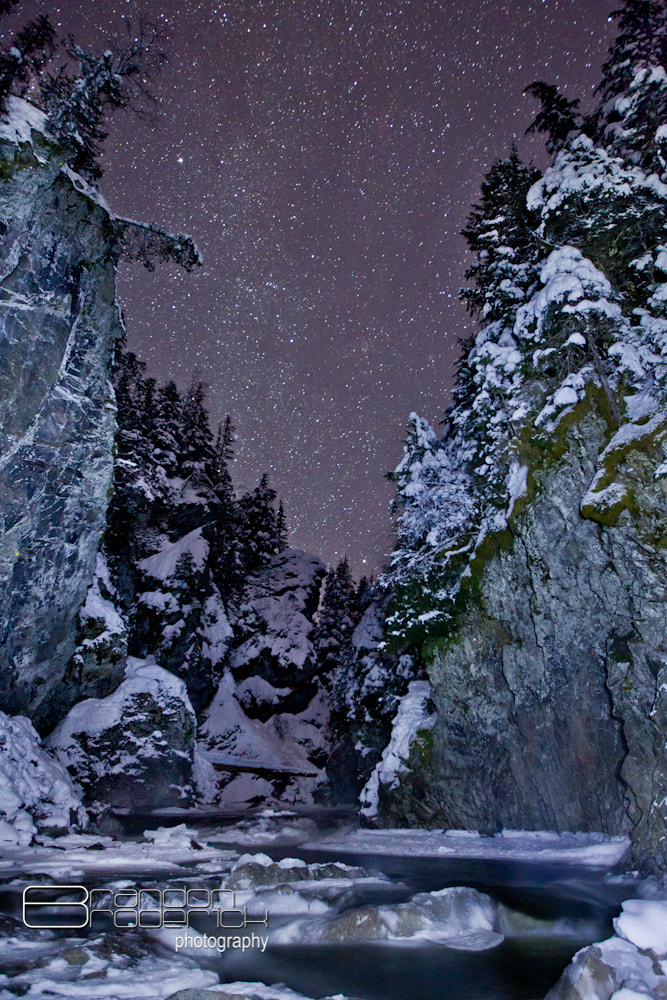Photograph Starry Creek by Brandon Broderick on 500px