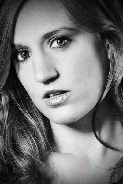 Photograph Heather B&W by Rev. Shane McDowell on 500px