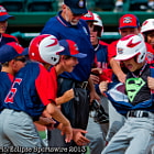 I Am Superman - After hitting a 3-run homer to put his team into the US Championship game, New Milford, CT's Austin Swanson rips open his shirt as he hits home plate to reveal..HE IS SUPERMAN.