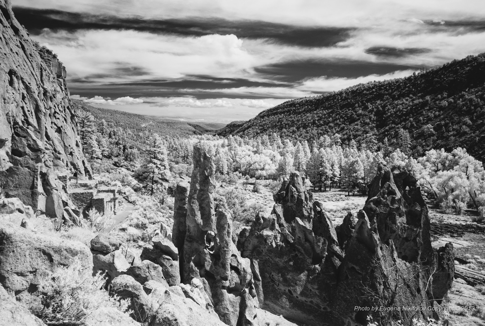 Photograph Bandelier National Monument, New Mexico by Eugene Nikiforov on 500px