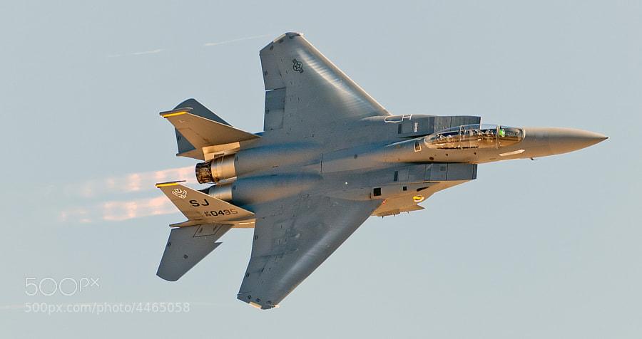 USAF F-15E Strike Eagle Demo Team