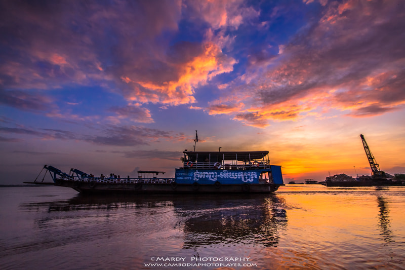 Photograph Phnom Penh-Arey Ksat ferry! by Mardy Suong Photography on 500px
