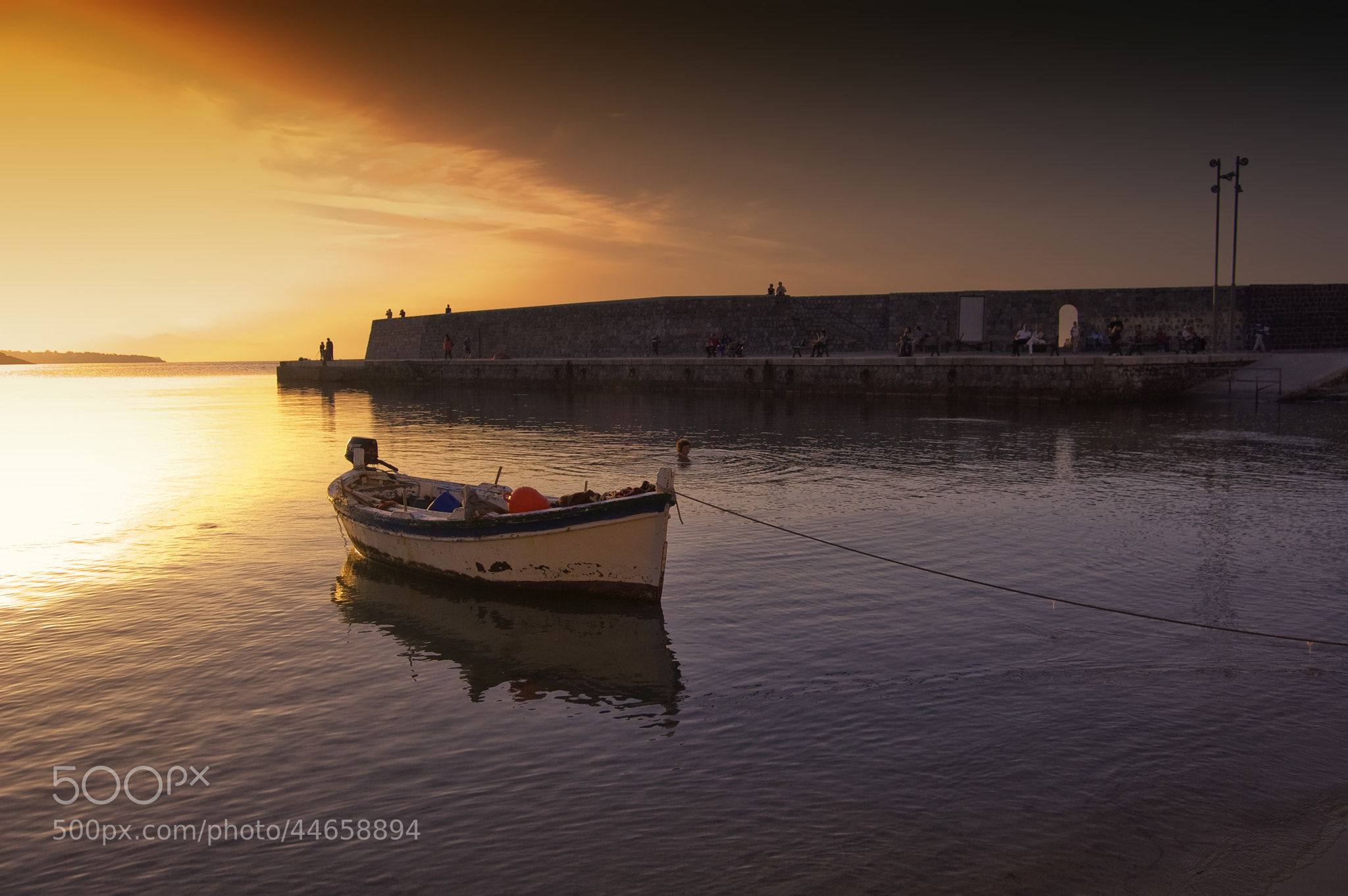 Photograph Fishing boat by Francesco Alamia on 500px