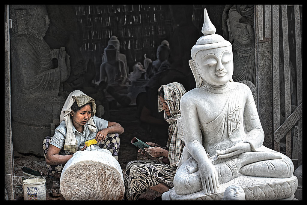 Photograph Buddha Factory by Jon Sheer on 500px