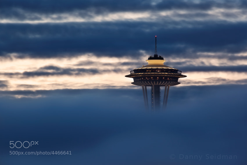 Floating in the Clouds by Danny Seidman on 500px.com