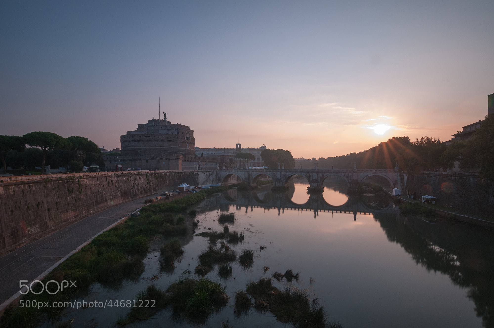 Photograph Rome Sunrise by Alexei Zaripov on 500px