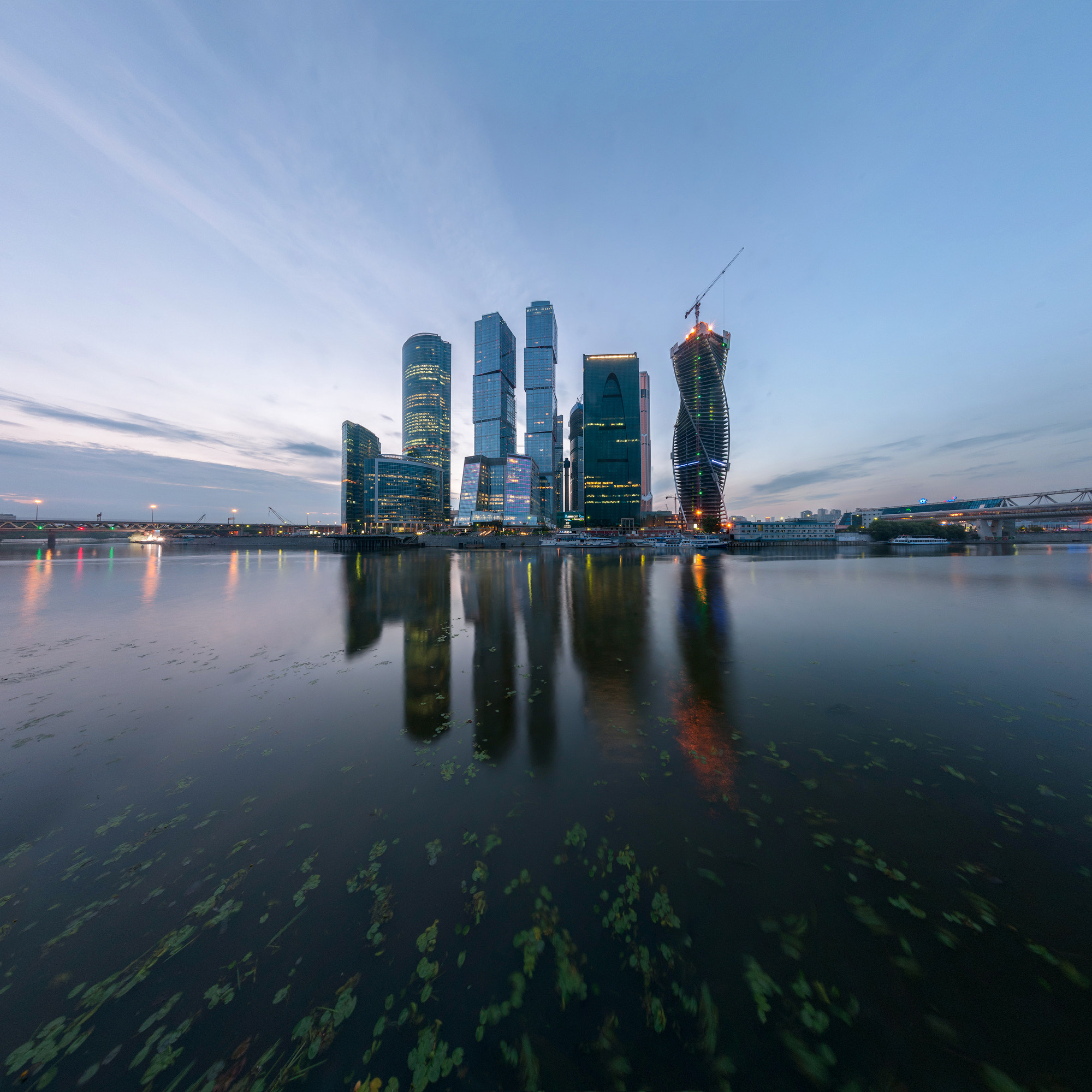 Photograph Moscow City by Alexei Zaripov on 500px
