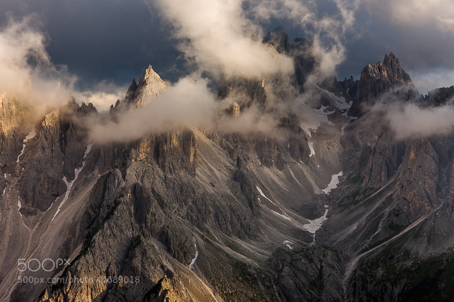 "<a href=""http://www.hanskrusephotography.com/Workshops/Dolomites-September-22-26-2014/n-xDBrz/i-S9JQfKn/A"">See a larger version here</a>  This photo was shot in July 2011 on a trip to the Eastern part of the Dolomites planning for a photo workshop."