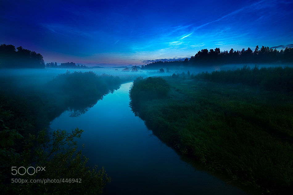 Photograph Mist and Noctilucent Clouds by Mikko Lagerstedt on 500px