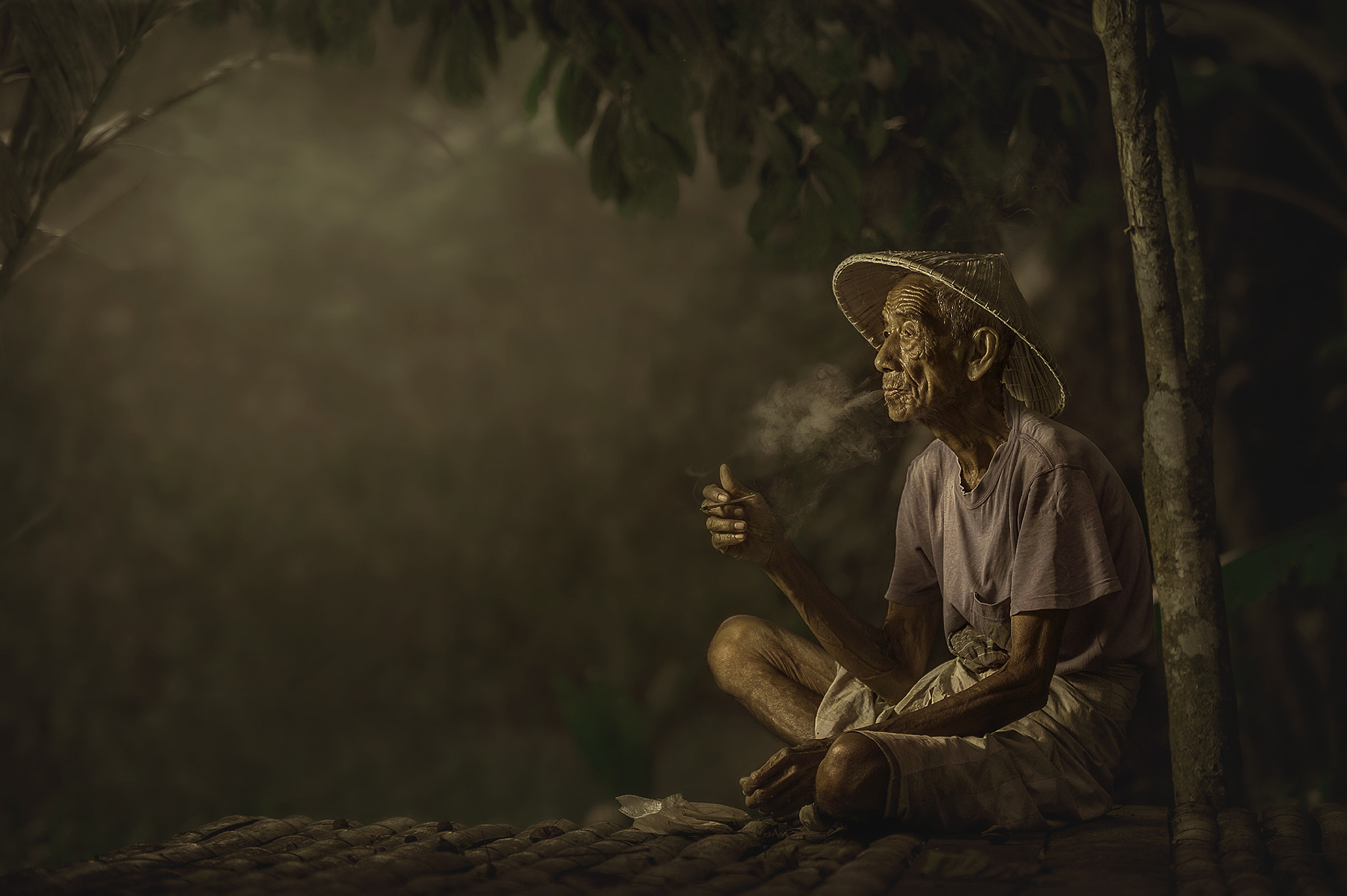 Photograph TAKE A REST-UNCLE TAHIR by abe less on 500px