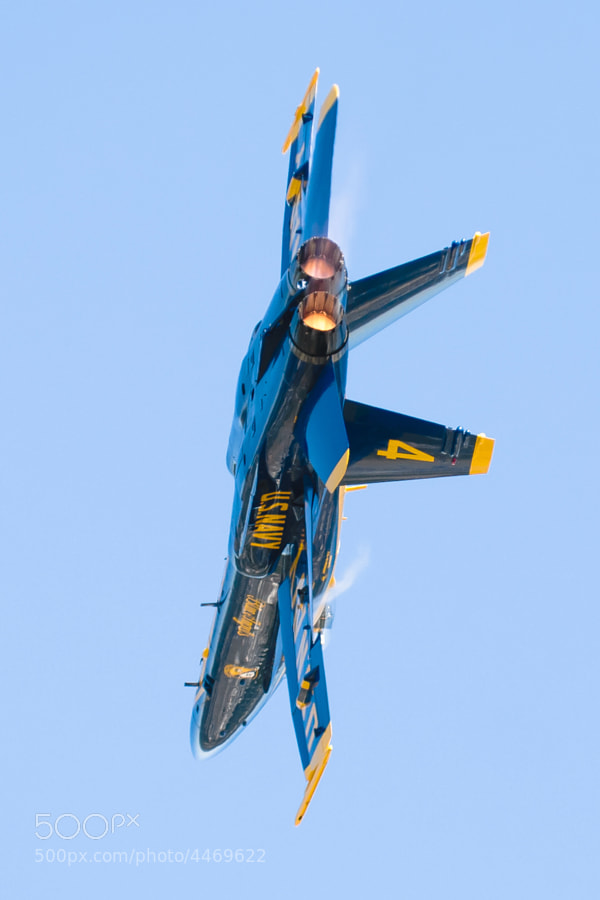 Blue Angel #4 turning & burning
