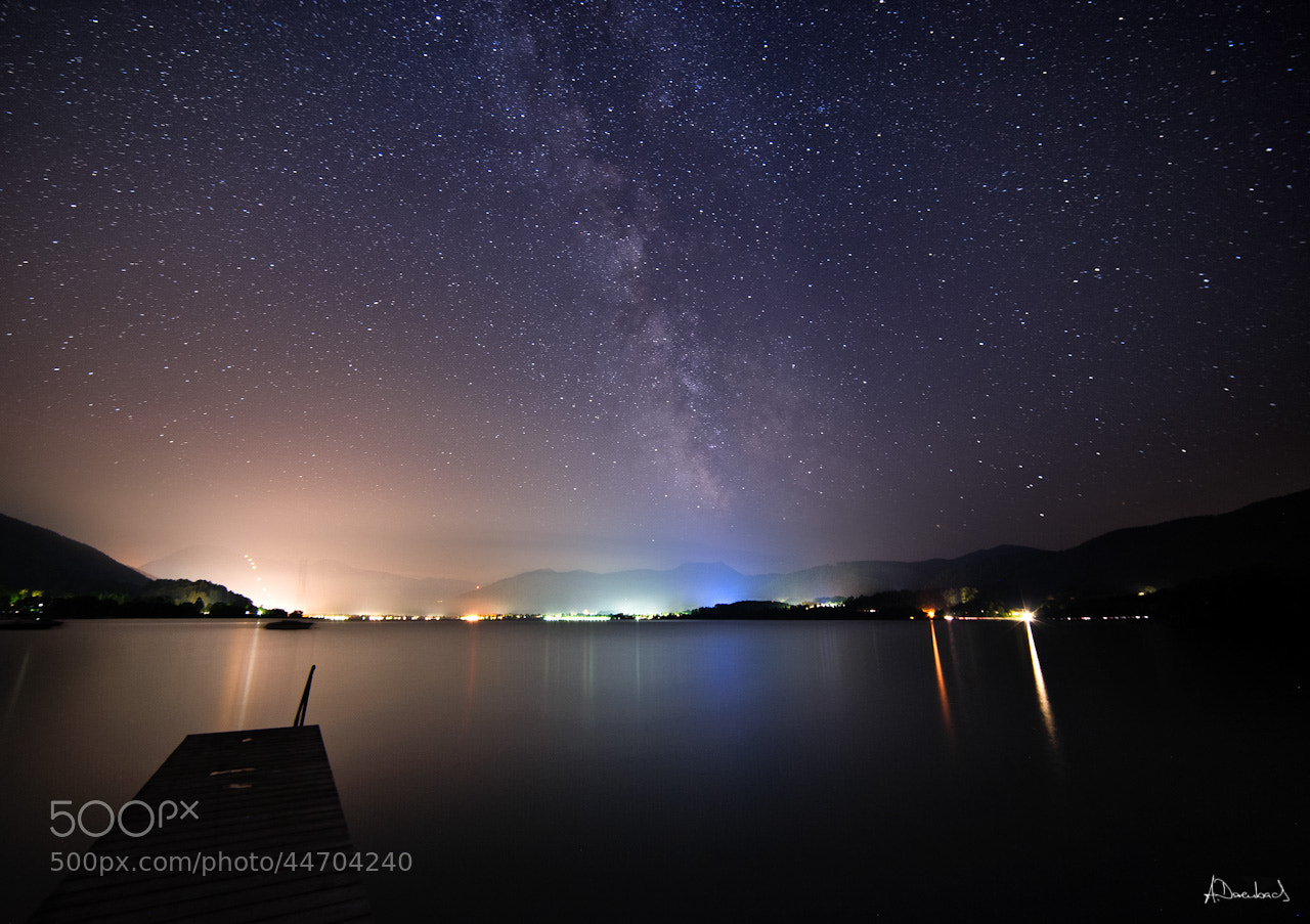 Photograph Tegernsee Night by Alexander Derenbach on 500px