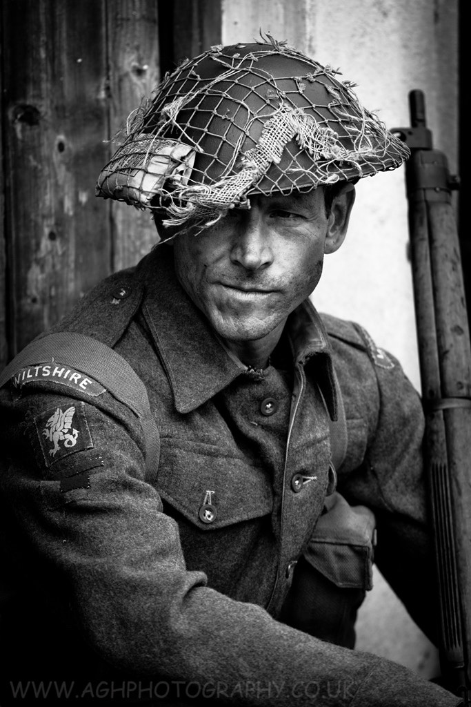 Photograph British WW2 Soldier by Tony House on 500px