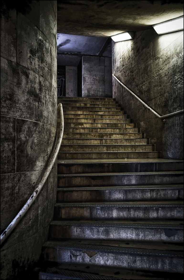 Photograph Stairwell by Mat Whittington on 500px
