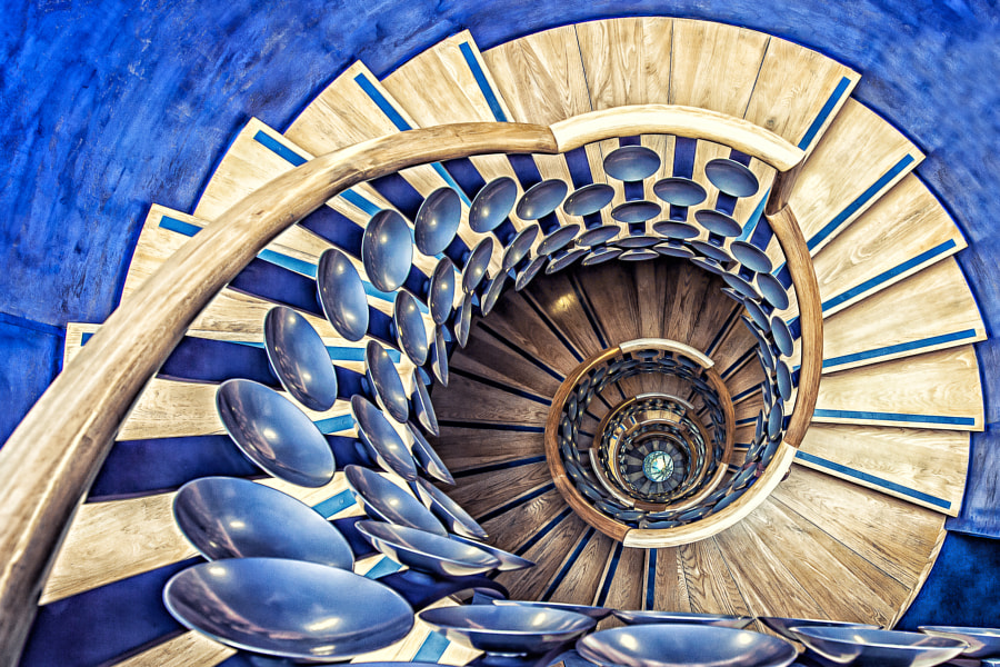 Magic Staircase by Tony Antoniou on 500px.com