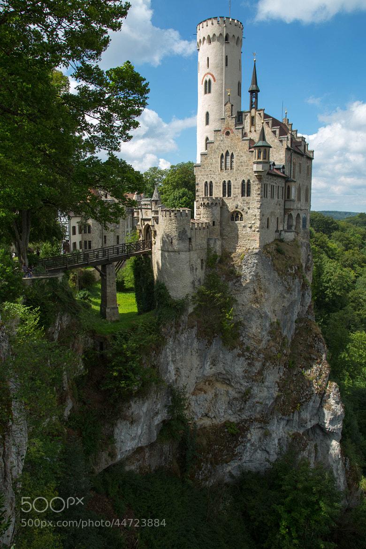 Photograph Castle Lichtenstein by Ken Smith on 500px