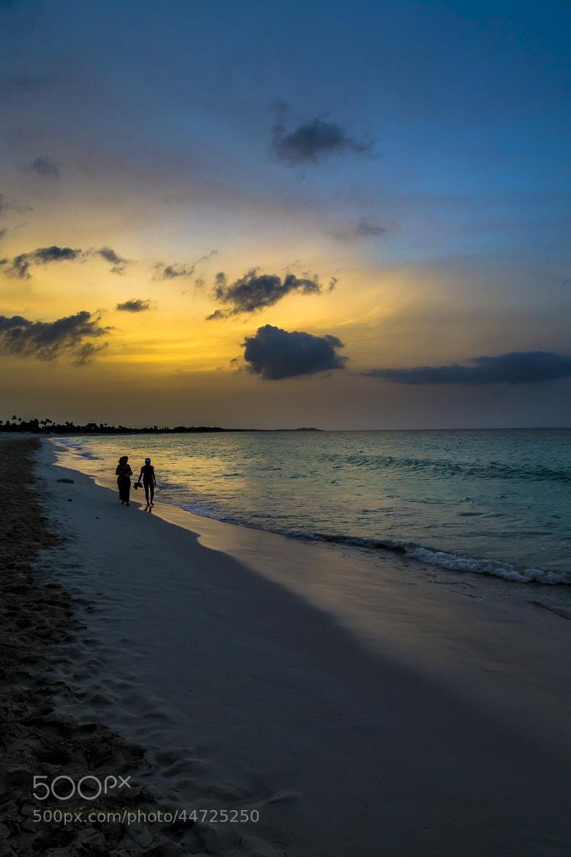 Photograph Beach walk... by Braulio Cosme on 500px