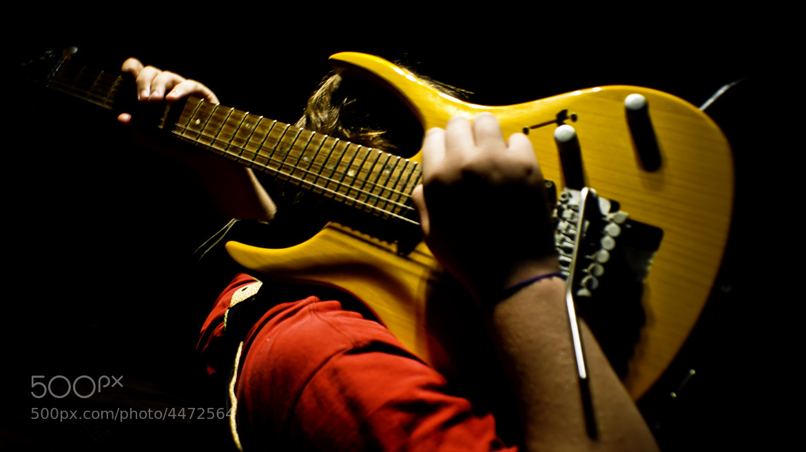 Photograph guitar man by Pedro Souza on 500px