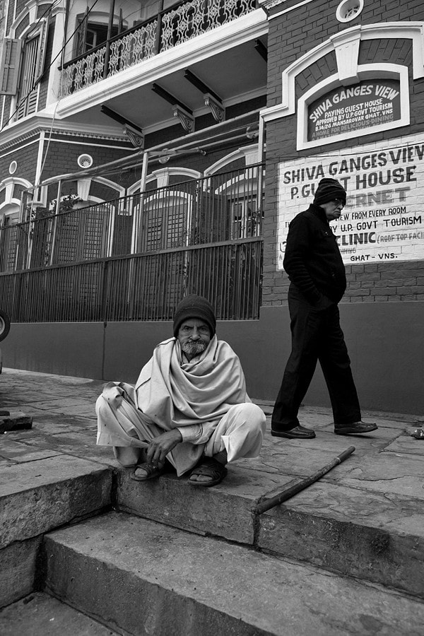Photograph two old men , benaras 2012 by Arijit Talukder on 500px