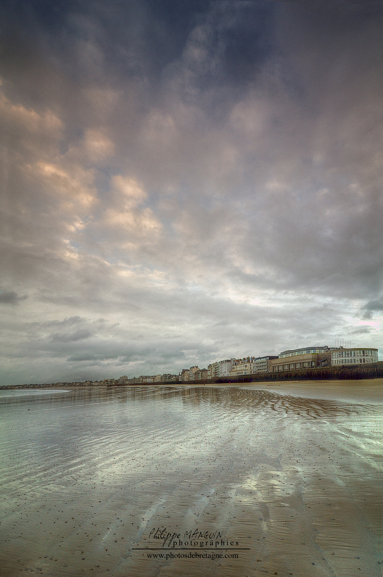 Photograph Saint Malo beach by Philippe MANGUIN on 500px