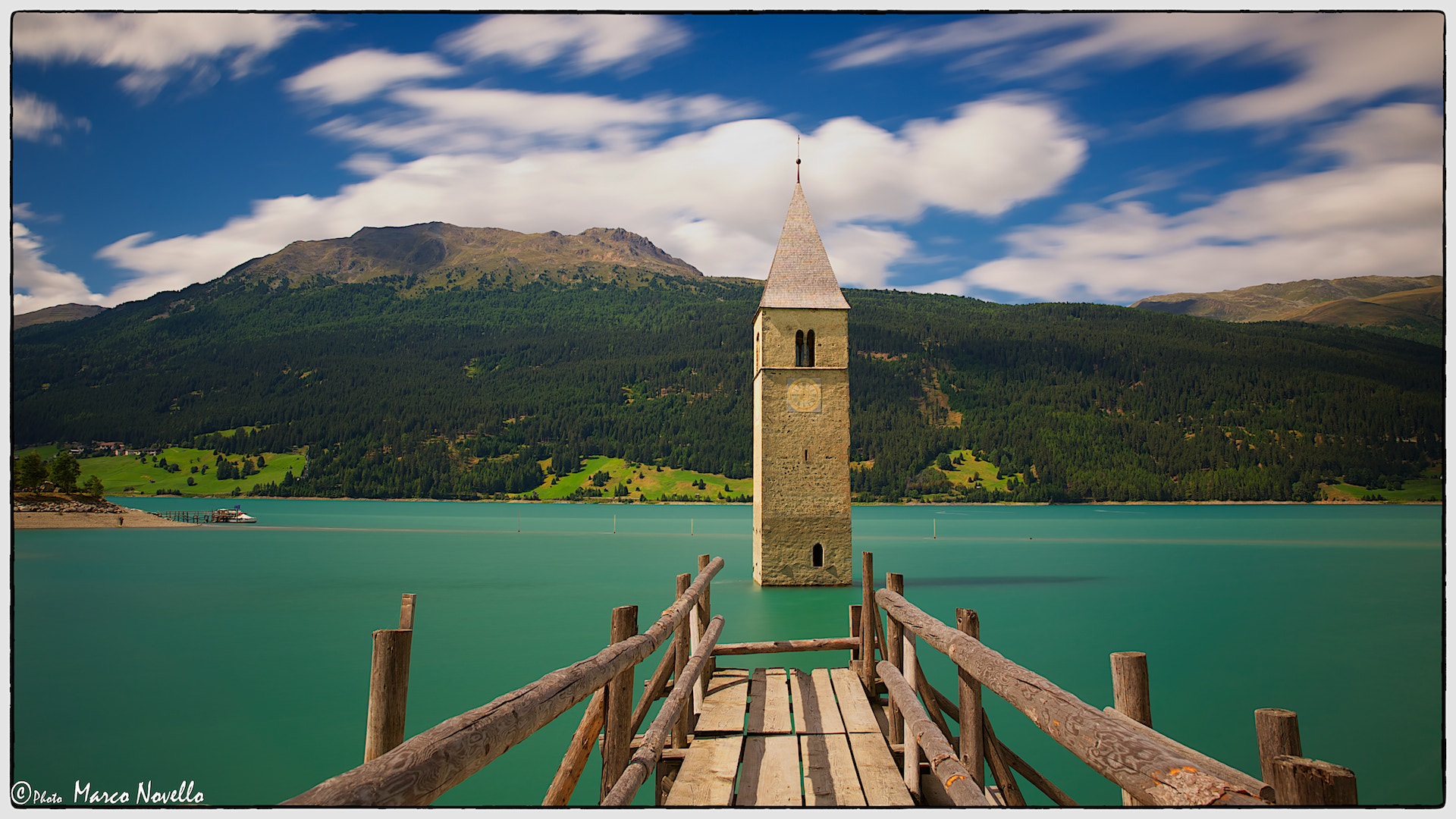 Photograph The bell tower...in the lake by Marco Novello on 500px