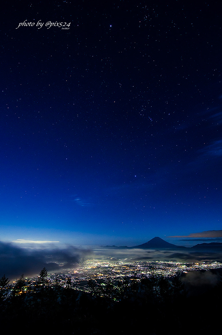 Photograph Stars of the earth and sky by Masaya Konishi on 500px