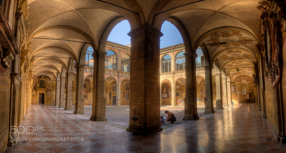 Photograph Biblioteca dell'Archiginnasio - Bologna - Italy by Guillaume Leray on 500px