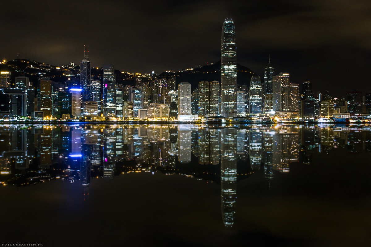 Photograph Hong Kong by night by Bastien HAJDUK on 500px