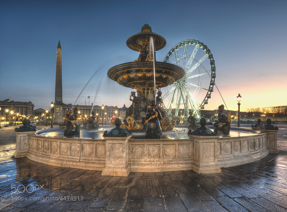 Photograph Fontaine des mers by Claude  ROZIER-CHABERT on 500px