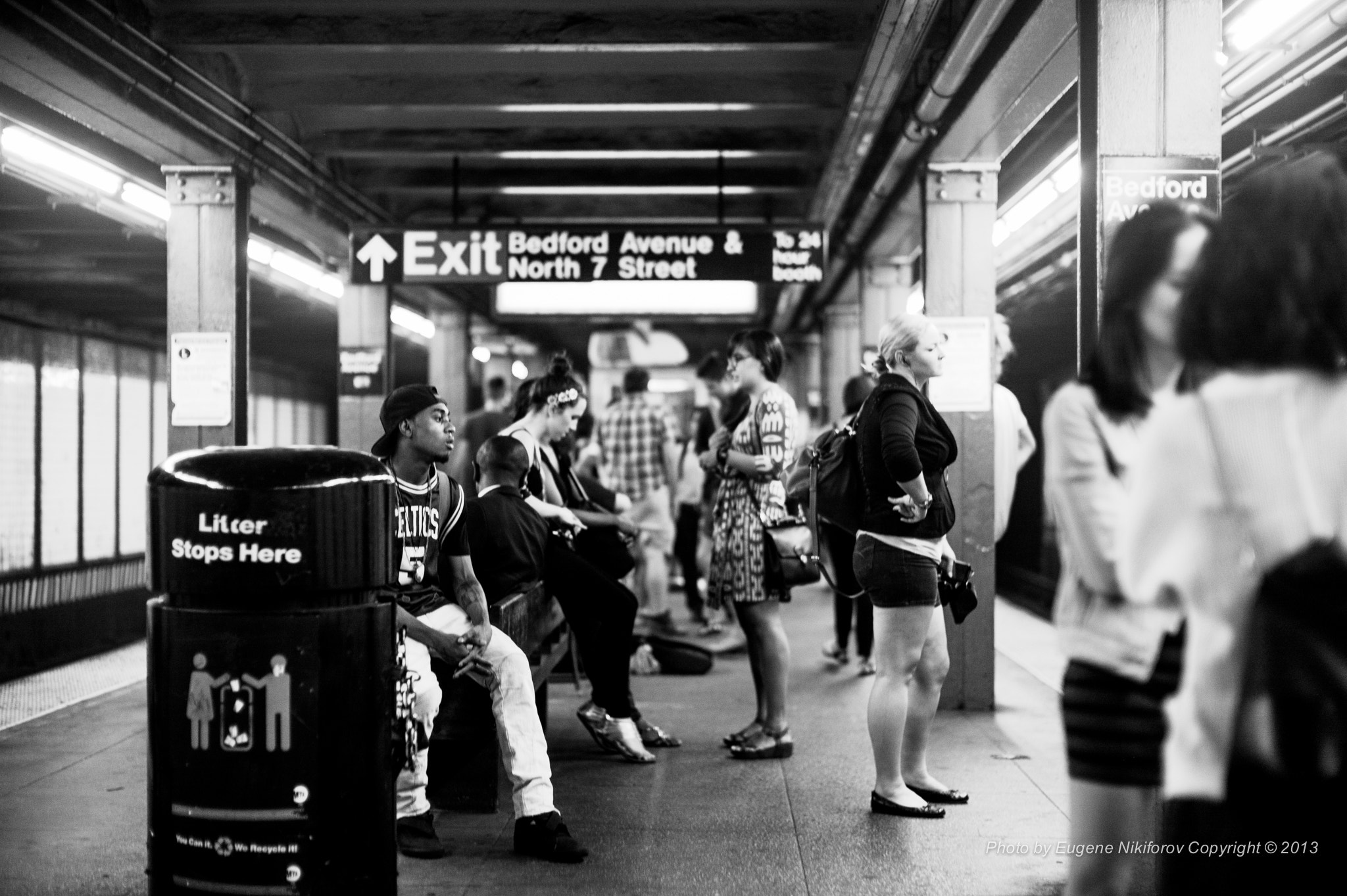 Photograph Random, Subway, NYC by Eugene Nikiforov on 500px