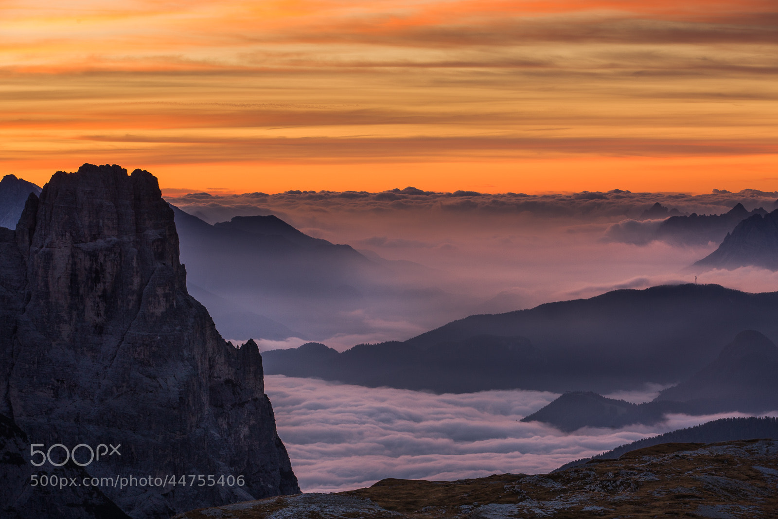 Photograph Morning at Tre Cime di Lavaredo, Dolomites by Hans Kruse on 500px