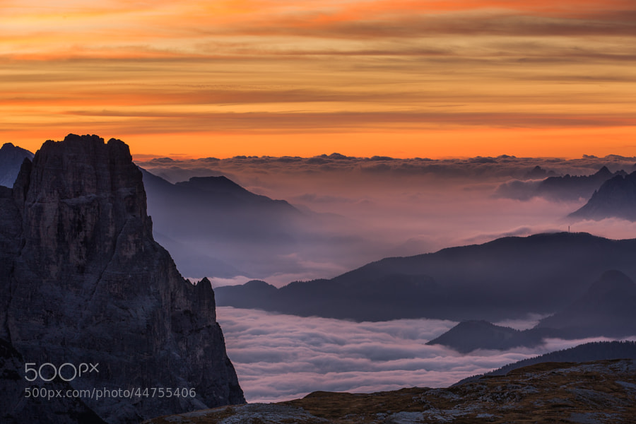"<a href=""http://www.hanskrusephotography.com/Workshops/Dolomites-September-22-26-2014/n-xDBrz/i-TwDrk9b/A"">See a larger version here</a>  This photo was shot in October 2011 on a photo tour to the Eastern part of the Dolomites that I was guiding for a group of photographers."
