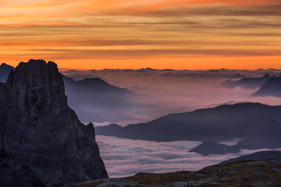 """<a href=""""http://www.hanskrusephotography.com/Workshops/Dolomites-September-22-26-2014/n-xDBrz/i-TwDrk9b/A"""">See a larger version here</a>  This photo was shot in October 2011 on a photo tour to the Eastern part of the Dolomites that I was guiding for a group of photographers."""