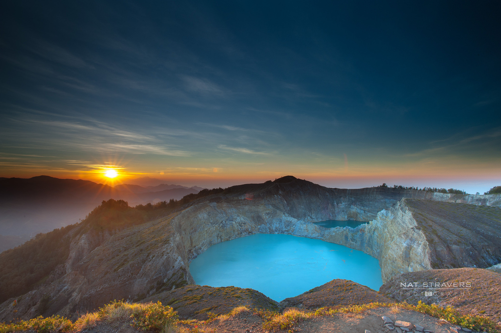 Photograph Kelimutu sunrise by Nathalie Stravers on 500px