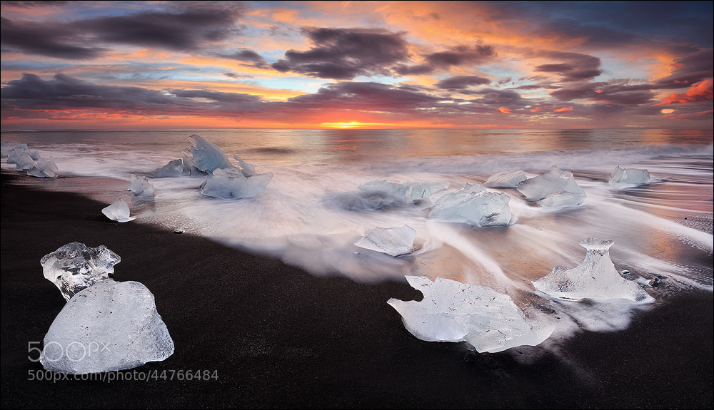 Photograph [ ... breiðamerkursandur ] by D-P  Photography on 500px