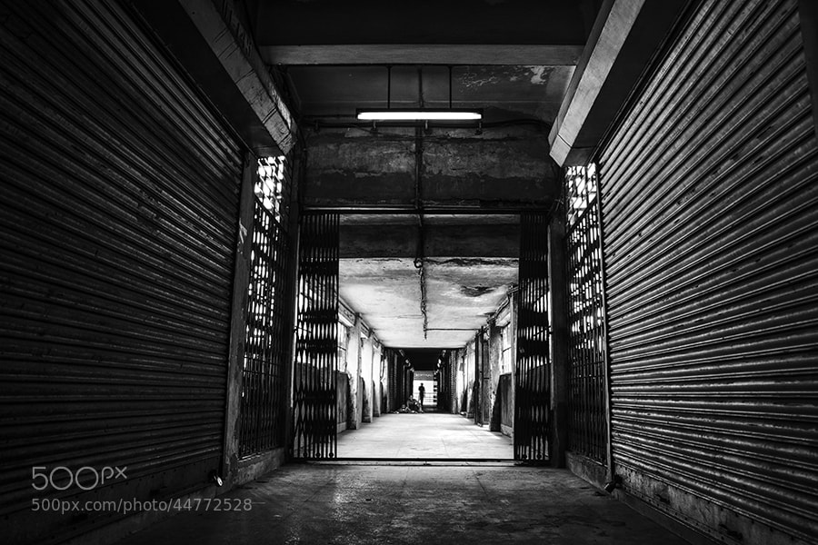 Photograph The Gray Corridor by _Ronnie on 500px
