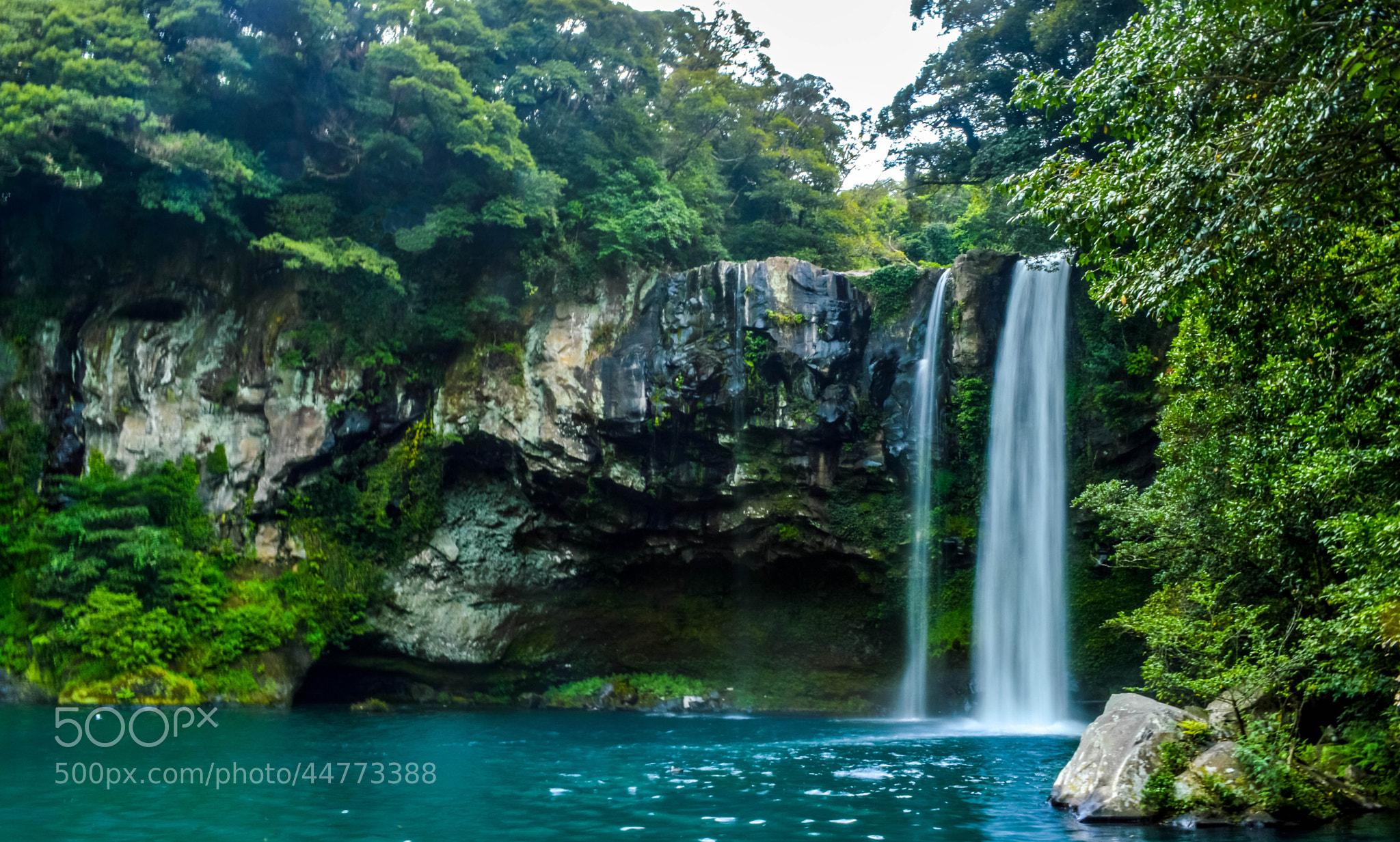 Photograph Cheonjiyeon Waterfalls by Teffran Chan on 500px
